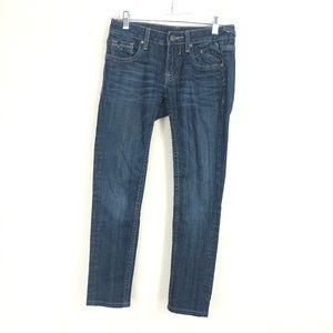 Vigoss The Jagger Women's Skinny Blue Jeans BFK